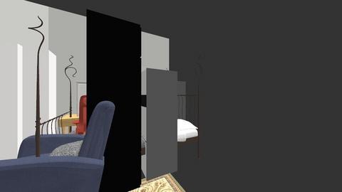 floor 3 flat - Bedroom  - by lisalove