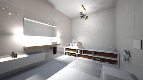 perfect bathroom - Vintage - Bathroom  - by czekoladkaaa123