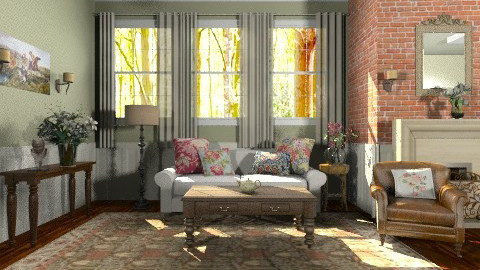 Amelia - Classic - Living room - by Baustin