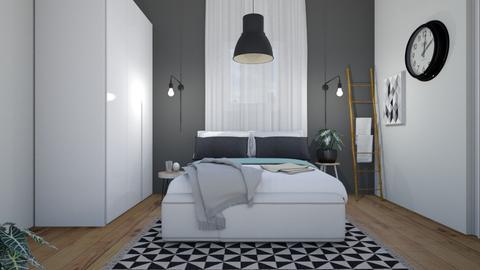Bedroom6 - Modern - Bedroom  - by etibennaim