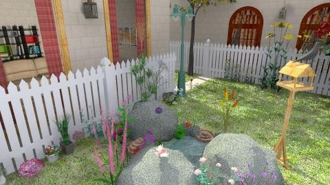 patien - Vintage - Garden  - by helindir