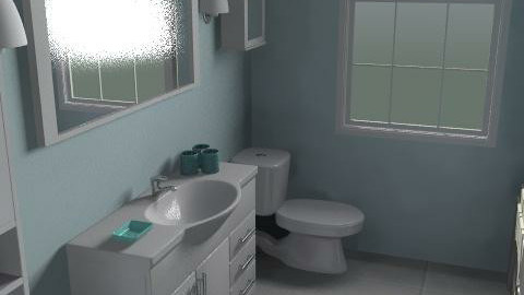 My Bathroom - Eclectic - Bathroom  - by iluvmusik7