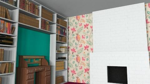 Patchwork Fantasy Colour - Rustic - Bedroom  - by PJFrog