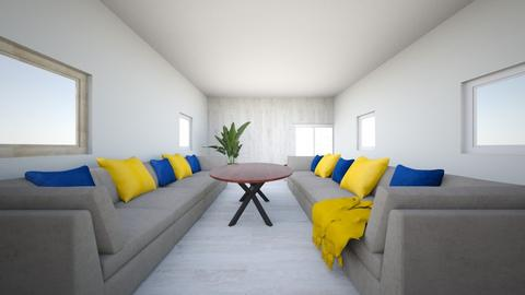 bright Thunder Room - Modern - Living room  - by SMRiley
