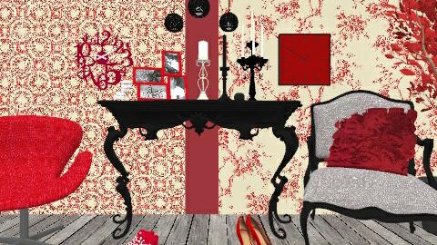 elegant - Vintage - Living room  - by lakacs28