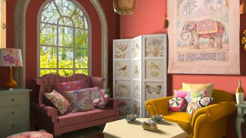 colori - Eclectic - Living room  - by RobertaS