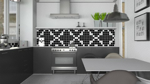 Mix - Eclectic - Kitchen  - by Carliam