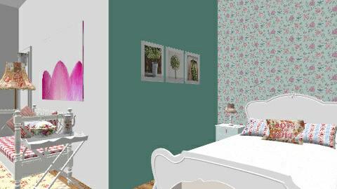 Bedroom K - Modern - Bedroom - by sumz78
