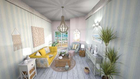 Seashell Living - Vintage - Living room - by Rose2207