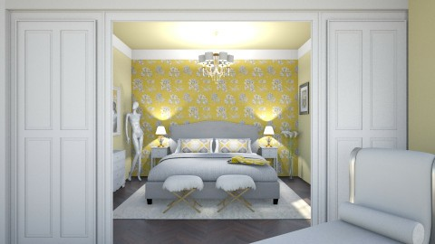 Rich white - Eclectic - Bedroom  - by Sali15