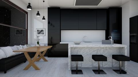 Contemporary Kitchen - Modern - Kitchen  - by laurenpoisner