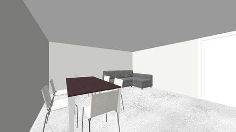 Living Room - by antoniomtzm