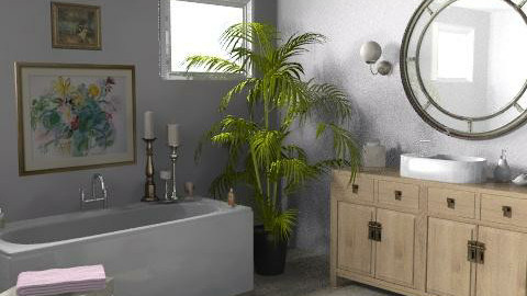 California Cottage - Ensuite - Eclectic - Bathroom  - by LizyD
