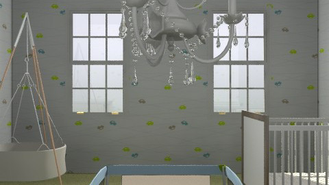 Baby Boy's Room - Eclectic - Kids room  - by aubreydb