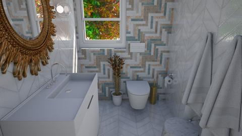 arty toilet room contest - by myaz_design