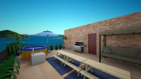 rooftop terrace - Modern - Garden  - by bsfoote