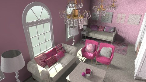 girly - Glamour - Bedroom - by kiscsitty