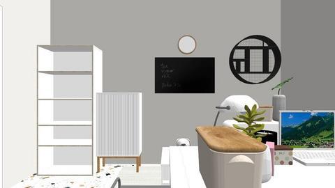 My Thstudy studio - Bedroom  - by Toeyhom222
