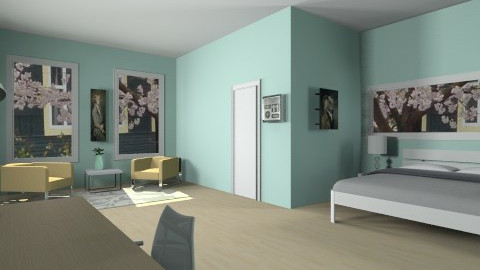 The Perfect Room - Modern - Bedroom - by so_lejit135
