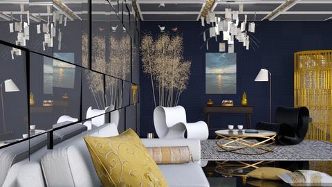 M_ Golden slumbers - Eclectic - Living room  - by milyca8