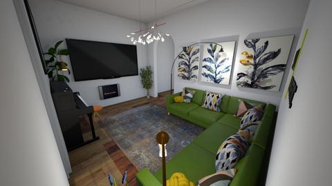 Meadow Close - Living room  - by rachelbbridge