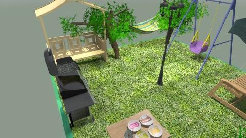 green - Country - Garden  - by adin ugraha