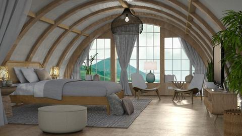 Concave - Bedroom  - by dominicjames