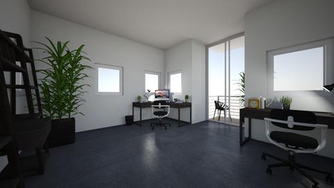 ufficio moderno - Modern - Office  - by mati07