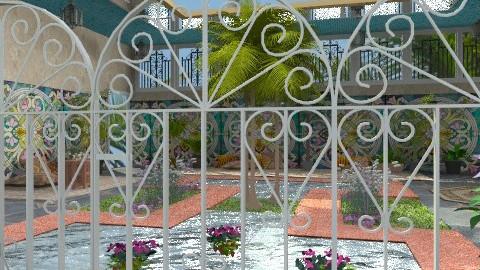 Forbidden Garden - Classic - Garden  - by Bibiche
