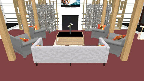 zala - Living room - by Dana  Liss