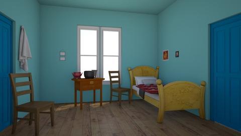 Van go - Bedroom  - by Pompompudding