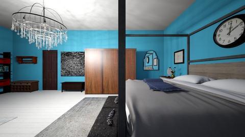 eac baile 3 - Vintage - Bedroom  - by c gabhann