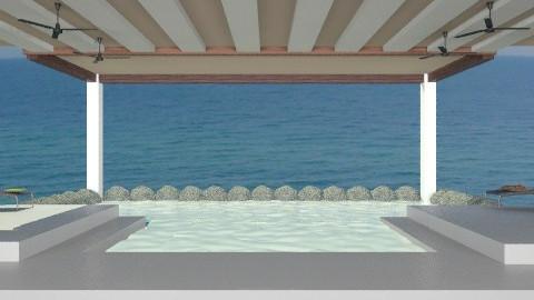 Infinity pool - Modern - Garden  - by dredre1030