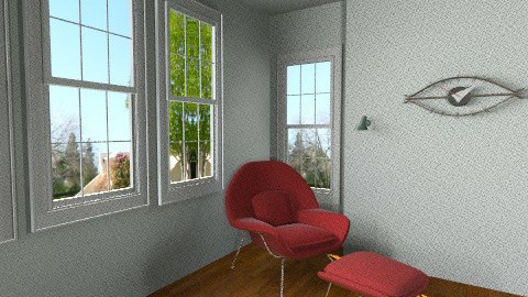 Pauline Jakober - Retro - Living room  - by solesan7
