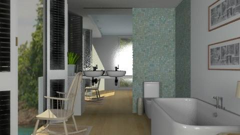 Bathroom on the Beach - Modern - Bathroom  - by Carliam