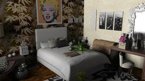 bedroom - Glamour - Bedroom  - by livia87