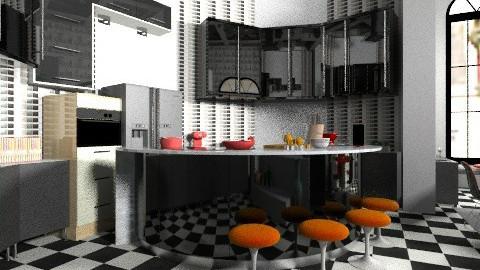 kitchen cookin fun - Glamour - Kitchen  - by kyarbrough5t