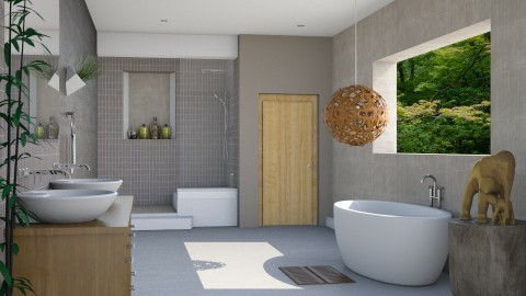 Luxury Bathroom - Modern - Bathroom  - by Musicman