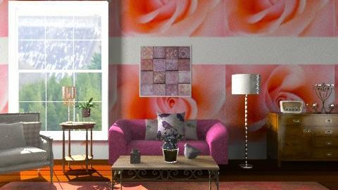 Sitting - Vintage - Living room  - by mrschicken