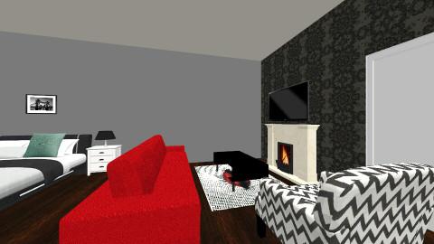Dels bedroom - Bedroom - by Delahni Mollard
