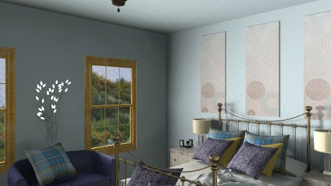 Bedroom Ideas cms3ai - Vintage - Bedroom  - by nonehpets