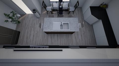 Cire Willis - Modern - Kitchen  - by shayden
