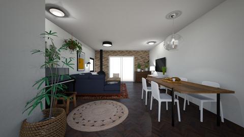Limor Weissbard 22 - Living room  - by erlichroni