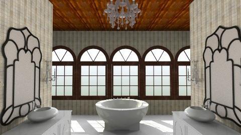 bathrrrrom - Bathroom - by PaperFlower