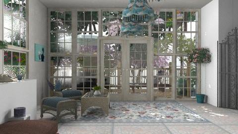 patio cerrado - Classic - Garden  - by ATELOIV87