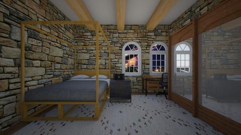 city bedroom - Bedroom  - by MomoBeag