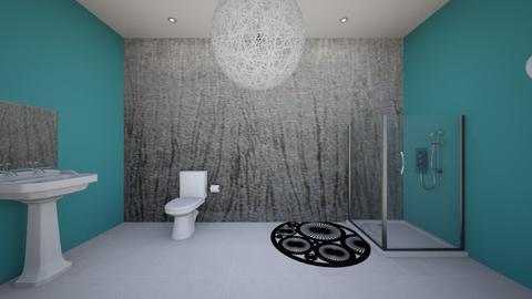 Metal Bathroom - Bathroom - by HamilGirl1234