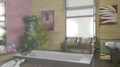 Luxury bathroom_Re - Glamour - Bathroom  - by milyca8