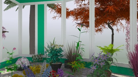 Greenhouse - Global - Garden - by ndfinney