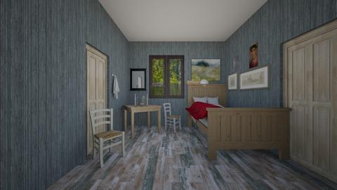 Sen Vincenta - Bedroom  - by Marta Perkowska
